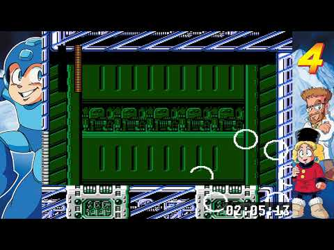 Mega Man Legacy Collection Challenge 26 MM4 Robot Rush Gold  