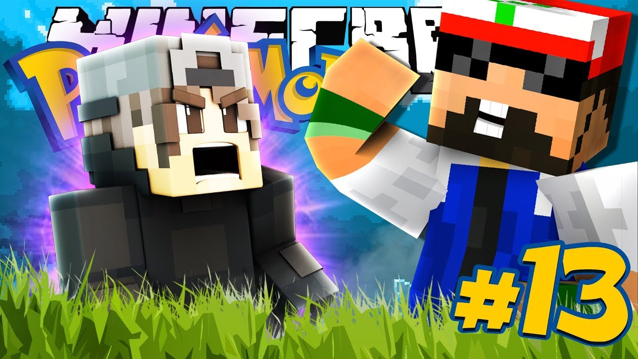 Minecraft: POKEMON - WILL MICHAEL FINALLY GO DOWN?! [13]