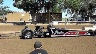 Tavares / Pauter sanddragster Dome Valley raceway