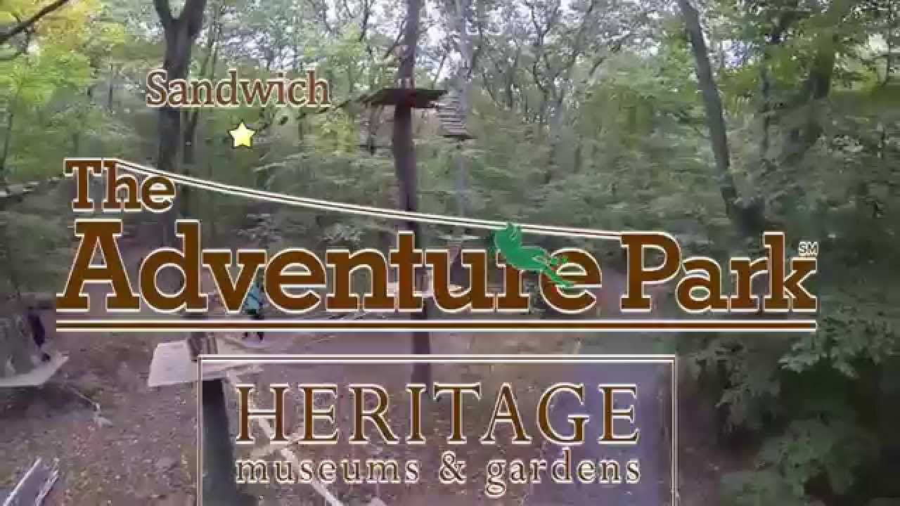 The Adventure Park At Heritage Museums And Gardens Youtube