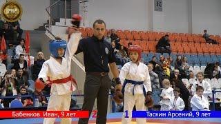 Соревнования по рукопашному бою среди детей возрасте 6-13 лет. Поединки.