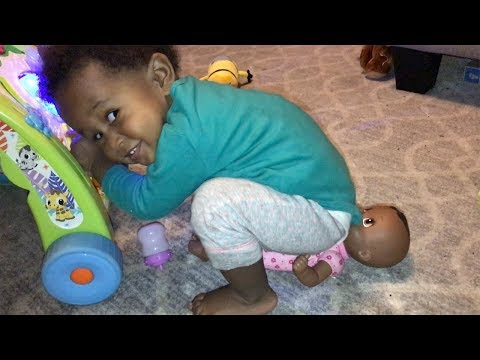 O'Zell Hatches Her Baby Doll Vlog