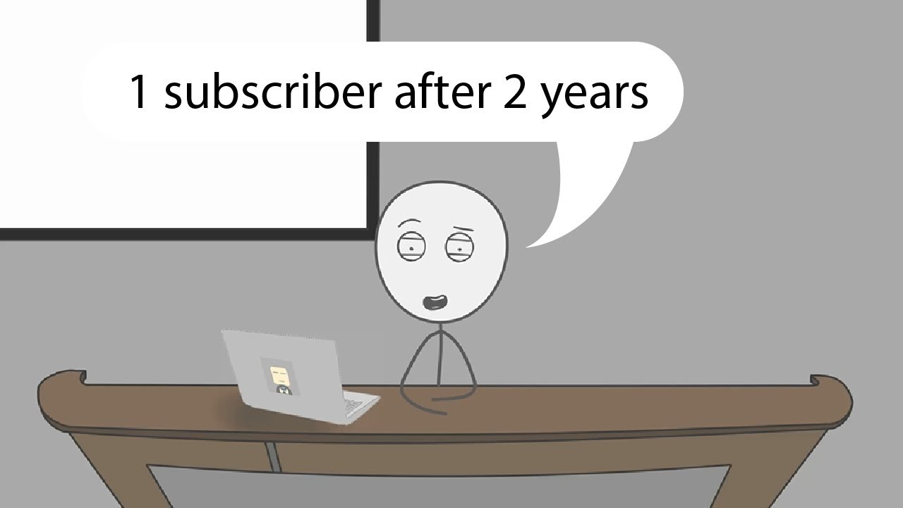 When a gamer opens a youtube channel