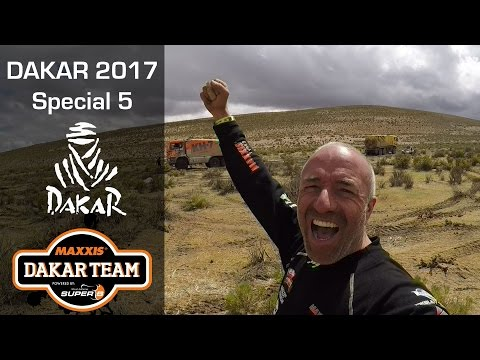 Mini docu; Dakar madness for Tom Coronel in special 5, mud, hail, towing and sleeping in the desert