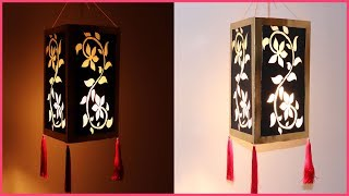 Easy And Simple Akash Kandil / Lantern Tutorial For Diwali Festival