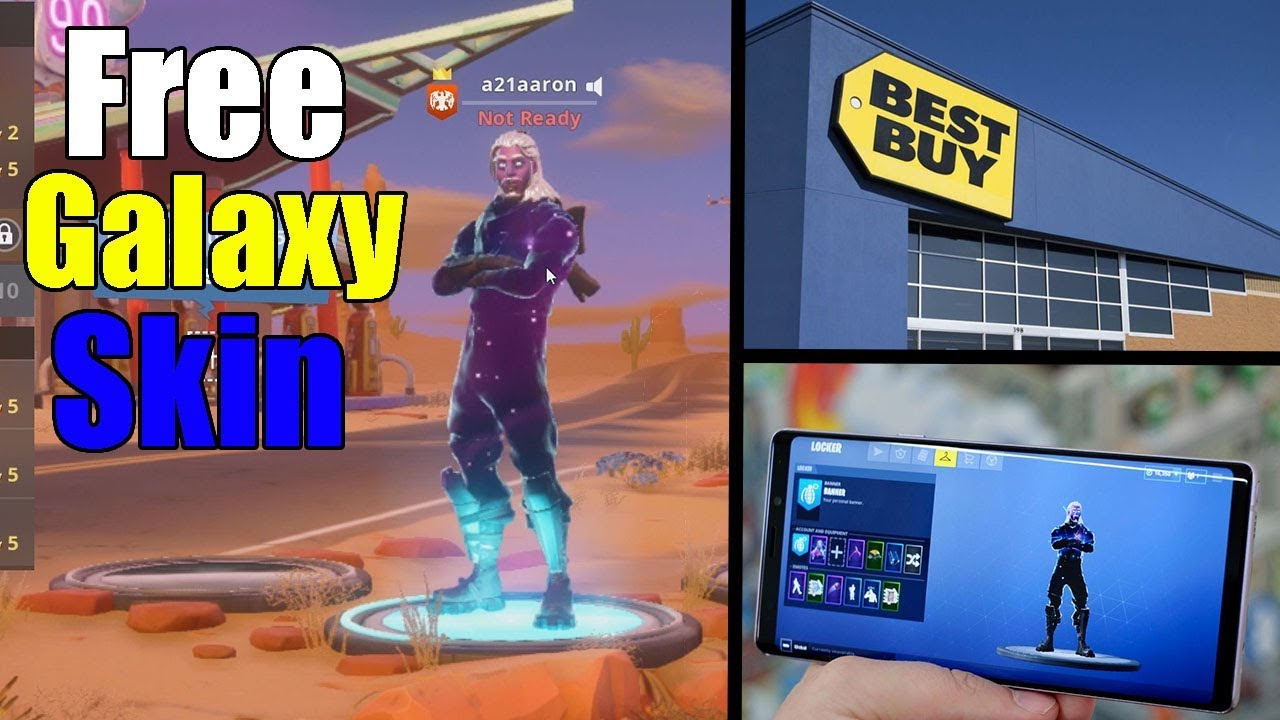 How i got the fortnite galaxy skin free at the store without buying the phone youtube - Fortnite galaxy skin free ...