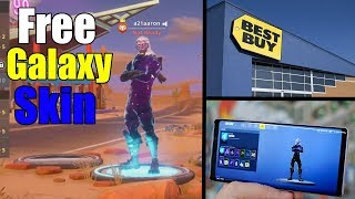 How I Got The Fortnite Galaxy Skin Free at the Store (Without buying the phone)