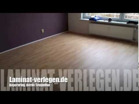 laminat verlegen berlin tempelhof youtube. Black Bedroom Furniture Sets. Home Design Ideas