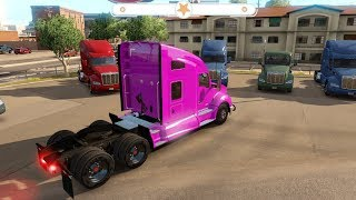 truck color Purple truck no body body in American [EP 02] #Truck #Toy #For kid