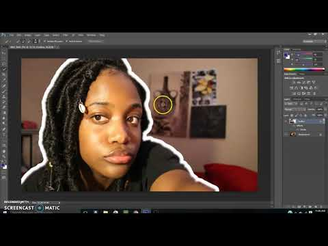 Photoshop Tutorial: How to Outline an Image! thumbnail