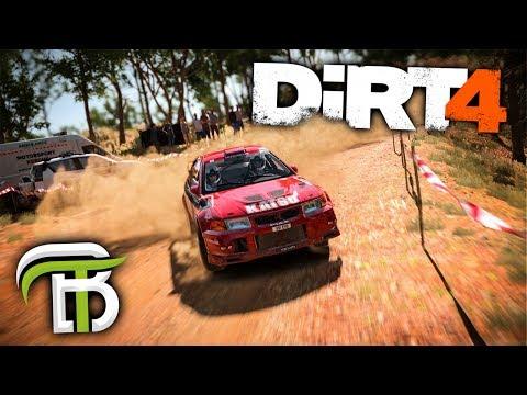 RACING IN THE RAIN   DiRT 4