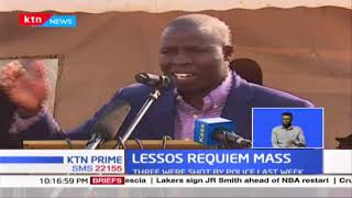 Requiem mass for three people shot by police held in Lessos