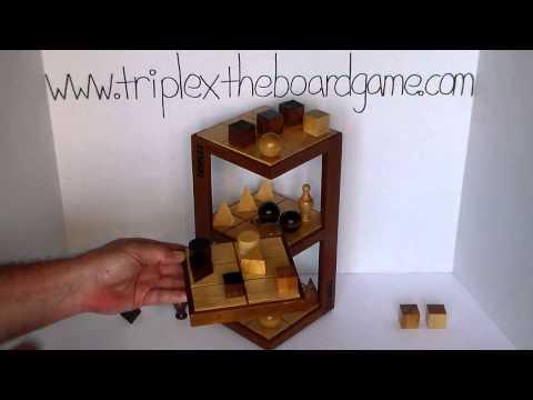 TRIPLEX the 3D Strategy Board Game - Match 6 - Game 1