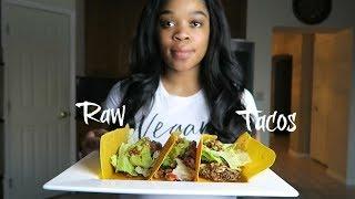 Day 15| Raw Vegan Challenge (BEST RAW VEGAN TACOS EVER) #FitFebruary #Weightlossjourney