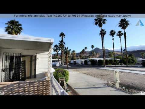 Priced at $155,000 - 210  COYOTE Drive, Palm Springs, CA 92264