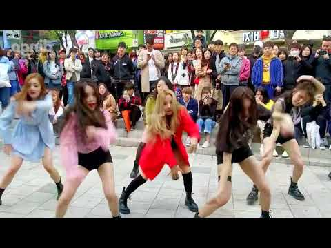 Gidle - Cover Dance Mirror; Hello Bitches, Mic Drop, Crazy.