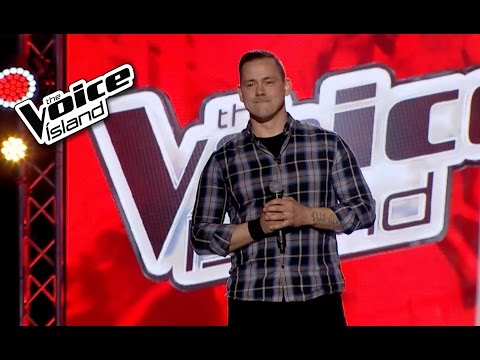 Hjörtur Traustason - Midnight Special | The Voice Iceland 2015 | The Blind Auditions