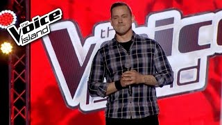 hjörtur traustason midnight special the voice iceland 2015 the blind auditions