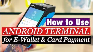 Simple demo on how to use the latest android terminal model verifone x990 for e-wallet payment and card payment. don't forget subscribe my channel! enjoy ...