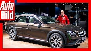 Mercedes E-Klasse All-Terrain (2016) Erste Details/Erklärung/Sitzprobe