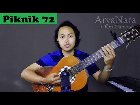 Chord Gampang (Piknik 72 - Naif) by Arya Nara (Tutorial)