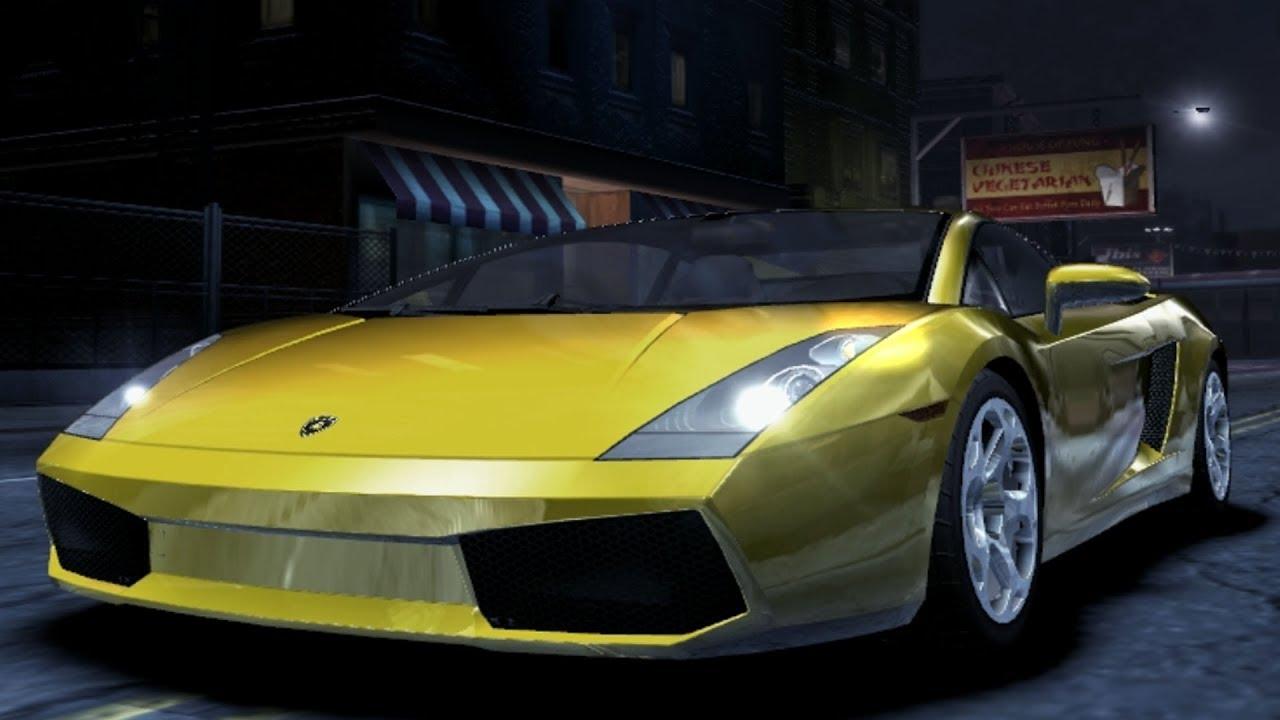 Need For Speed: Carbon - Lamborghini Gallardo - Test Drive Gameplay (HD)  [1080p60FPS]