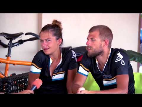 Interview for Garuda TV, Suriname