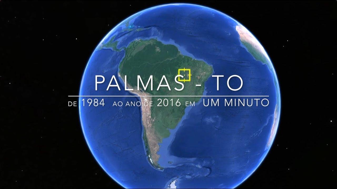Palmas de 1984 a 2016 em um minuto.