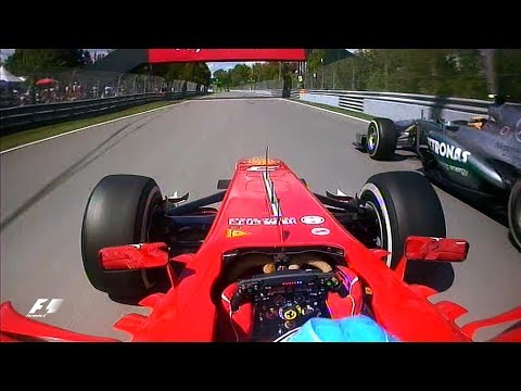 Alonso And Hamilton's Epic Battle | 2013 Canadian Grand Prix