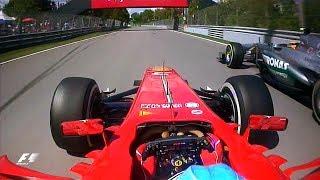 Alonso And Hamilton's Epic Battle | 2013 Canadian Grand Prix