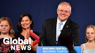 Australia's Liberal-led conservative government headed for 'miracle' general election victory