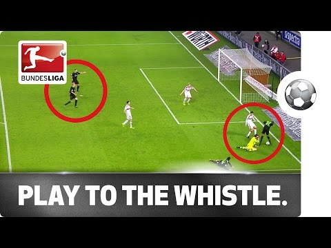Moment of Madness - Stuttgart's Langerak stops playing