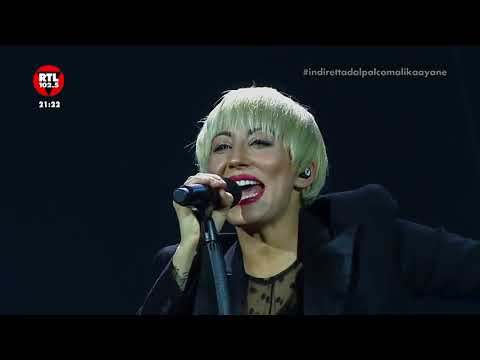 Malika Ayane in concerto dal Teatro degli Arcimboldi (MI)