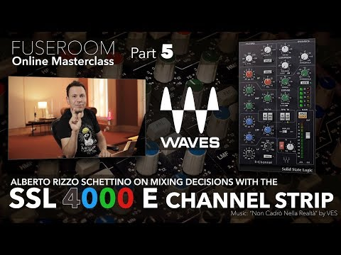 Full Mix With The Waves E Channel Plugin Youtube