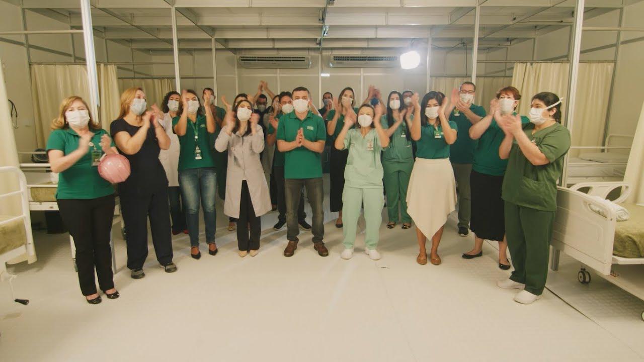 Hospital de Campanha   Unimed Fortaleza