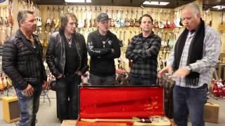 Bob Dylan / Robbie Robertson Guitar visits Norman's Rare Guitars