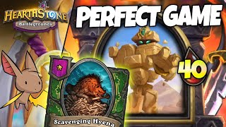 Getting a PERFECT Pyramid Beast Game!? | Firebat Hearthstone Battlegrounds