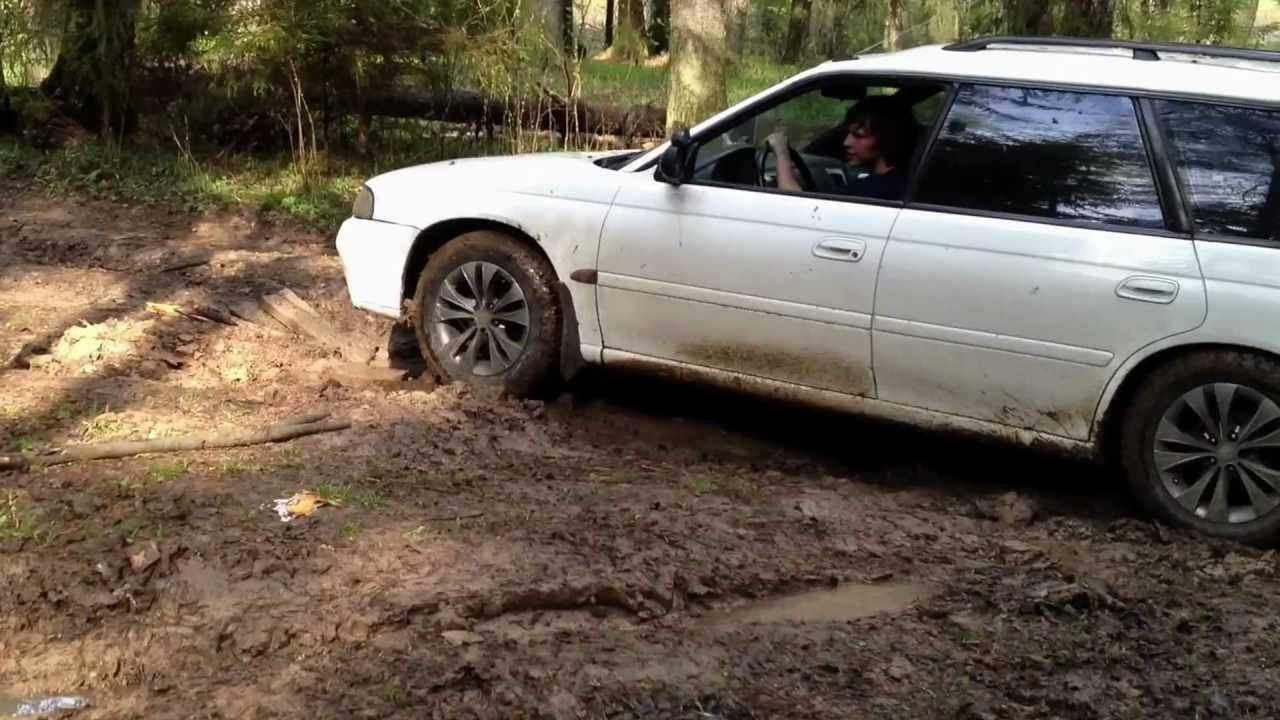 Subaru Legacy Off Road 4wd 95 Youtube