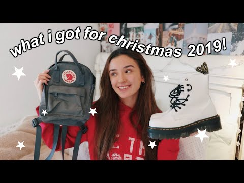 WHAT I GOT FOR CHRISTMAS 2019!