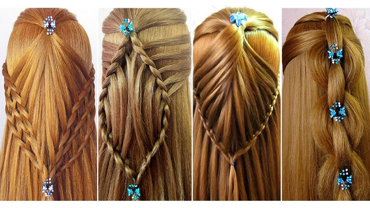 Easy Back To School Hairstyles for Girls ★ Hairstyles for open hair ★ Tuto coiffures pour l'école