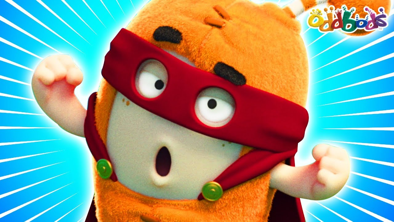 Oddbods | MARVELLOUS SUPERHEROES | NEW | Funny Cartoons For Children