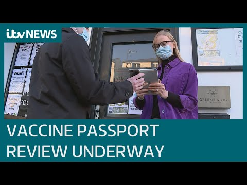 UK government to review Covid vaccine passport | ITV News (Stick your pubs up your arse!)