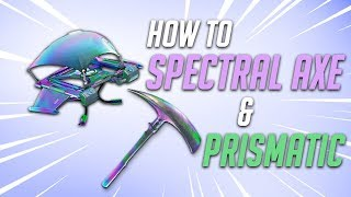 How to: GET SPECTRAL AXE AND PRISMATIC GLIDER IN FORTNITE FOR FREE (TUTORIAL)