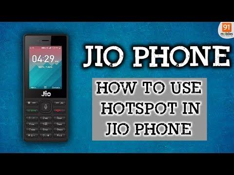 Jio Phone: Hotspot Update | How To Use Hotspot In Jio Phone [Hindi हिन्दी]