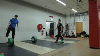 Snatch and clean&jerk laḋder from Weightlifting 101 Elite Training Camp