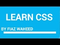CSS Cursor Property ,Part-2|Lec-30|CSS tutorial for beginners in Urdu/Hindi|
