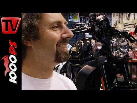 Ducati Scrambler Desert Sled, Scrambler Cafe Racer | Vaulis Motorrad Neuheiten