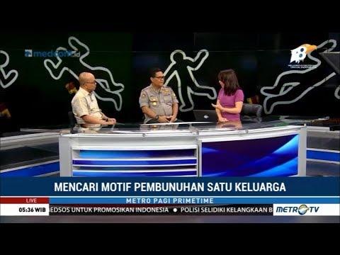 Kronologis dan Motif Pembunuhan Satu Keluarga di Bekasi