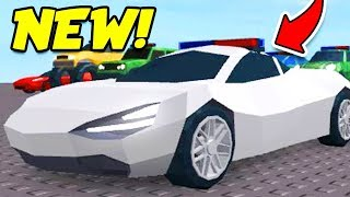 Roblox Jailbreak NUOVO AGGIORNAMENTO LEAK!! TURN ANY CAR IN A POLICE CAR!