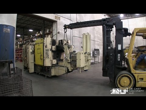 HPM 400 Ton Die Casting Machine Removal / Loading